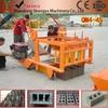 QMR4-45 diesel engine portable mobile concrete block making machine, egg laying block making machine price