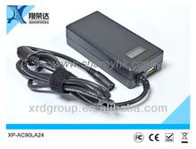 Sharey universal usb ac power adaptor 12v 90W XP-AC90LA24 5v 2000ma output safety mark