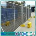 ao ar livre fácil de instalar padrão austrália temporária cercas de madeira