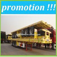 semi trailer with air bag suspension