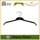 Alibaba Website Hot Black Color Metal Hook Plastic Cloth Hanger