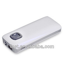 2014 FOST small size external mobile phone power bank 5600mAh ,led power bank