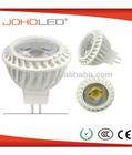 led 35/45/ 60 degree plastic housing COB 5W 12v mr16 led spotlight