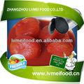 recém descascado enlatado tomate cereja inteira