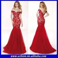 ED-0966 Mermaid Lace tarik ediz evening dress evening dresses from dubai full figure evening dresses