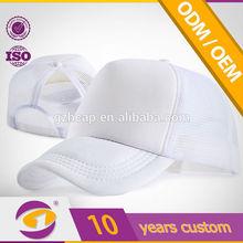 2014 snapback trucker new mesh plain cap on hot sell