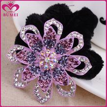 Fashion hair flower wholesale diamante jewelry