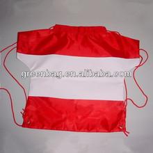 Hot sell T shirt drawstring bag