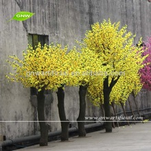 Yellow Color Artificial Cherry blossom tree for indoor decoration trees BLS035 GNW