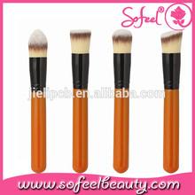 Sofeel 4pcs custom kabuki brushes wholesale