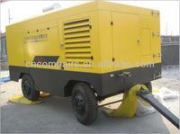 Portable diesel screw Air compressor/air compressor for mining