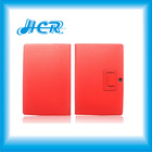 High Quality Folding Leather Case Cover for ASUS Transformer TF201, Folio Leather Case with Stand for ASUS Eee PAD TF201