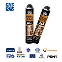 fire retardant heat resistant pu foam spray insulating