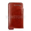 Deluxe leather mobile phone case