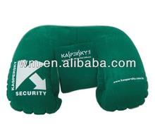 Hot selling U shape PVC Inflatable neck pillow,travel pillow