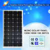 China best Monocrystalline solar panel 150 w for 12v solar system
