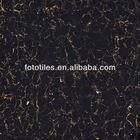 Foshan pulati /black gold sparkle floor tile