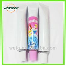 promotional ballpen plastic fashionable ointment shaped pen
