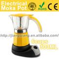 amarelo g1038 electric máquina de café expresso bialetti café
