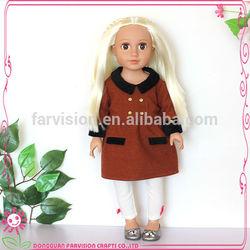 18'' pink doll dress wholesale,custom doll dress wholesale, fashion toy clothing
