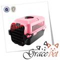 Muestra de la alta calidad de plástico perro o gato productos para mascotas jaula de la salud mango jaula del animal doméstico