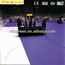 PortaFloor, portable flooring, hockey, stadium, arena, concerts, special events