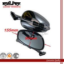 BJ-RM-031 Universal Chrome Plate Big Size Motorcycle Mirrors For Yamaha R6