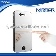 New Premium PET Mirror screen protectors for iphone 4 screen protector mirror