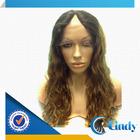 Finest short u part wig ombre color hair