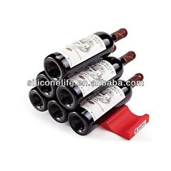 New design for refrigerator silicone wine bottle holder / beer bottle holder