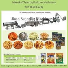 Fried Nik naks Kurkure Cheetos Snacks Making Extruder Machine