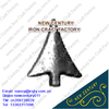 wrought iron spears heads / forged iron spears / cast steel finials for the fence / gate / grill