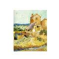 Van gogh o velho moinho/vida real pinturas de paisagem/famosa pintura de arte giclee imprime