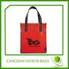 Eco-friendly green reusable shopping bags