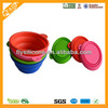 Factory Sale Foldable Silicone Pet Bowl for Traveling as seen on tv