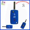 Shenzhen supplier cheap wholesale rubber remote for 307 peugeot car key case