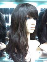 Fashion hair style wholesale brazilian vrigin 100% full lace human hair wig