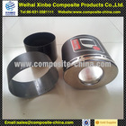Carbon fiber muffler/exhaust pipe,carbon fiber clear coat