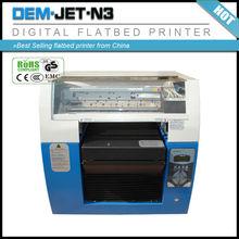 Best Selling digital inkjet golf ball /tennis/basketball/football /volleyball logo flatbed printer