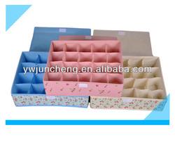 20 cells High Quality Sock Storage Organizer/Divided Storage Box for Socks