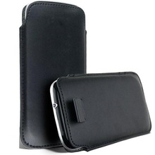 Personalized Wholesale Flip Cover Mobile Case / Black Leather Mobile Case / Mobile Case For Unisex