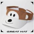 2015 nuevo diseño Animal encantador de espuma sombrero visera