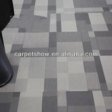 Level loop branded carpets