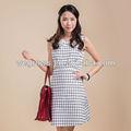 Nova família moda vestido da senhora verão família conjunto de roupa para o vestido de mãe de vestido das mulheres( tgx1408201a)