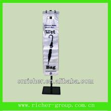 2014 most popular Cheap plastic wet umbrella bag China supplier
