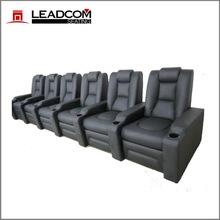 LEADCOM luxury leather electric cinema reclining sofa (LS-811)