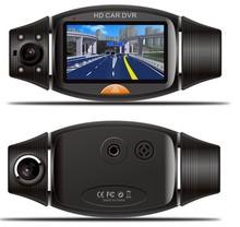 motion activated hd 720p mini dual camera car dvr 2.7inch GPS G-sensor