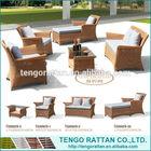 Modern furniture or classic rattan sofa price (TG0092S)
