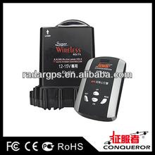 factory low price OEM conqueror Mini550(GPS 868) anti police car radar detector