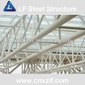 espacio de la red de metal cubierta de techo y de caballete para el estadio y la sala de